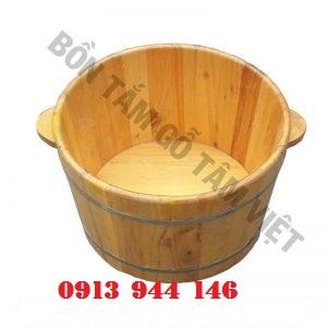 Chậu ngâm mông gỗ pơmu chất lượng cao - Tâm Việt