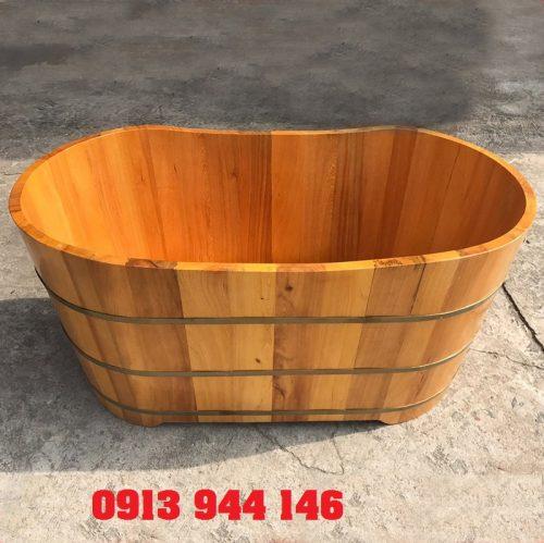 Bồn tắm gỗ chất lương cao của Tâm Việt