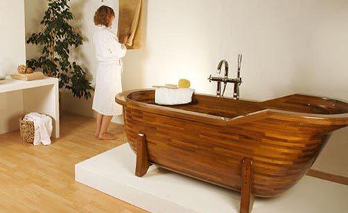 Cách sử dụng và bảo quản bồn tắm gỗ đúng cách