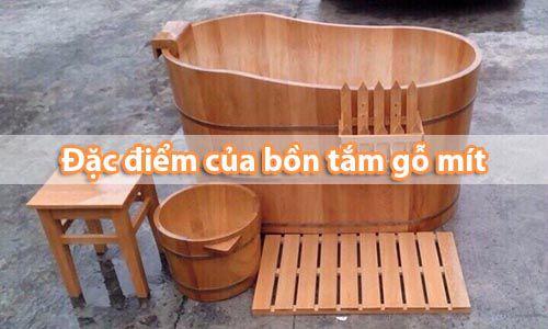 Thùng tắm - Bồn tắm gỗ lõi mít có bền không _ Tâm Việt