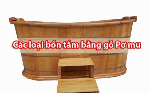 Các loại Bồn tắm bằng gỗ Pơ mu phổ biến nhất - Tâm Việt