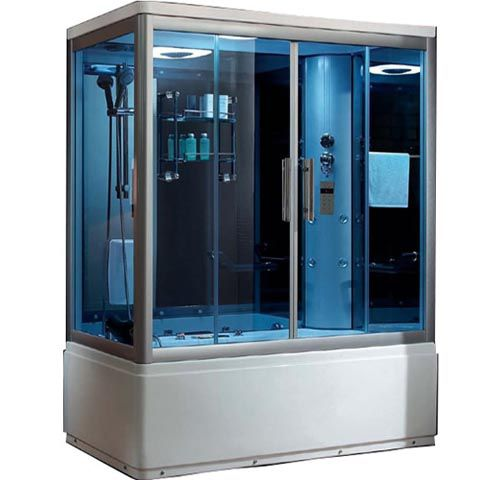 Kích thước phòng xông hơi Daros 16-06 là 1700 x 900 x 2150mm và có bồn massageKích thước phòng xông hơi Daros 16-06 là 1700 x 900 x 2150mm và có bồn massage