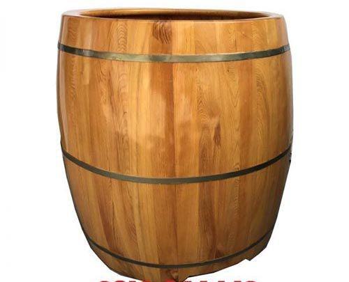 Thùng tắm gỗ Spa được các nhà thuốc và Spa sử dụng khá nhiều