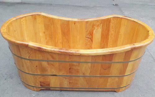 Mua bồn tắm gỗ thông giá rẻ ở đâu tốt nhất Hà Nội?