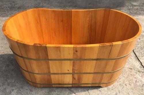 Bồn tắm gỗ Pơ-mu chất lượng cao của Tâm Việt