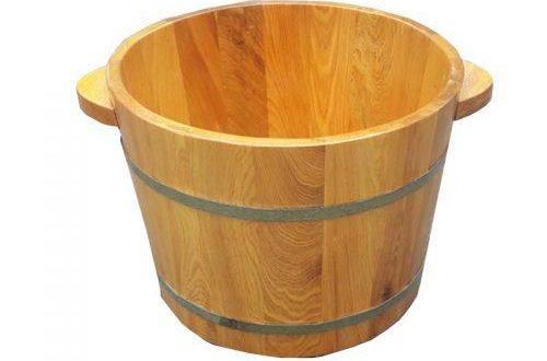 Chậu gỗ pơ mu là sản phẩm tốt nhất để ngâm chân - Tâm Việt