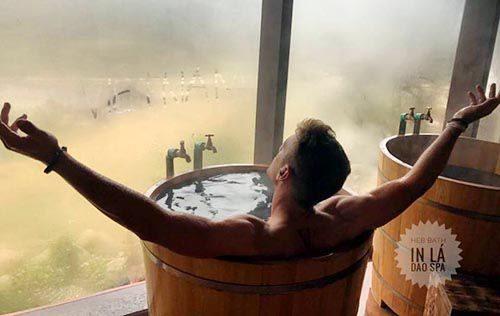 Dịch vụ tắm đế vương mới lạ tại ở Sa pa