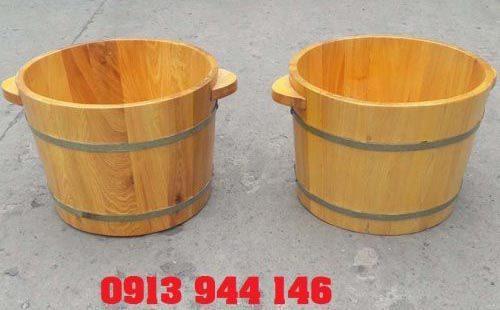 Mua chậu ngâm chân bằng gỗ ở đâu là tốt nhất Hà Nội và Tp.HCM?