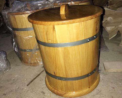 Thùng gỗ đựng gạo cao cấp giá rẻ mang lại nhiều lợi ích cho khách hàng