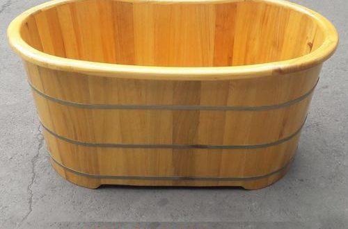 Các loại bồn tắm gỗ Pơ mu phổ biến trên thị trường hiện nay - Tâm Việt