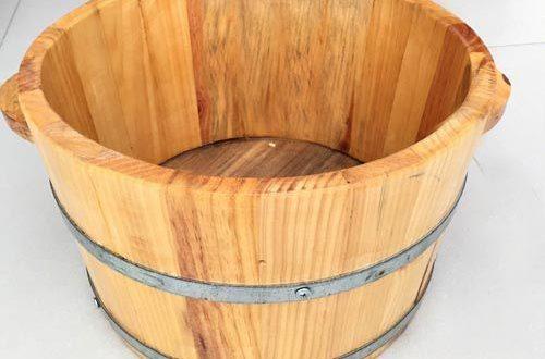 Các mẫu chậu ngâm chân gỗ bán chạy nhất hiện nay