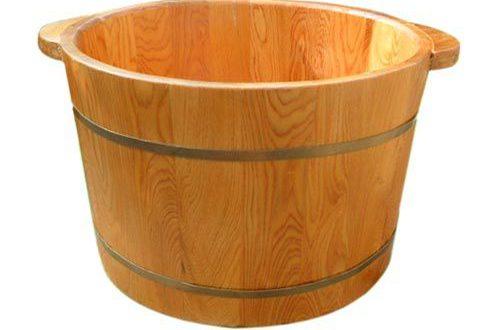 Những tác dụng kỳ diệu của chậu gỗ ngâm chân
